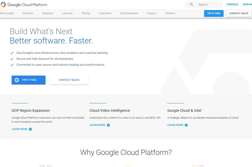 Cloud Giant Google Builds London Cloud Data Centre