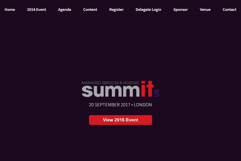 Sixth Annual Managed Services and Hosting Summit-UK Takes Place September 2017